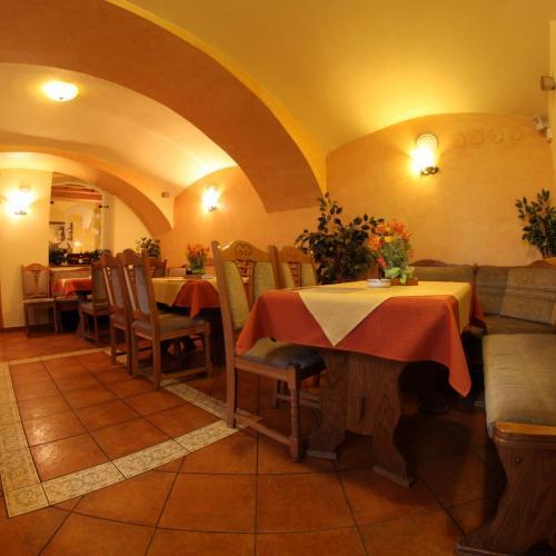 Restaurace v Mahlerově Penzionu